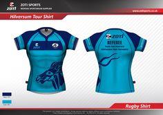 Rugby Club Hilversum - referee shirts voor het 2016 Internationaal Jeugd Toernooi