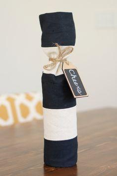 DIY Wine Bags - Stitches & Press