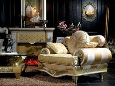 Living Room Set in Empire StyleTop and Best Italian Classic