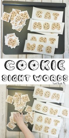 Cookie Sight Word Spelling