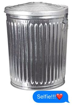 Walmart Trash Cans Outdoor Custom Pregalvanized Trash Can With Lid Round Steel 20Gal Gray