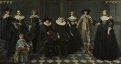 Het gezin van Dirck Bas Jacobsz, burgemeester van Amsterdam, Dirck Dircksz. van Santvoort, 1634 - 1635