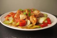 5-2 diet low calorie sweet and sour chicken - fast day 5-2 diet recipe