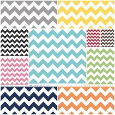 Medium Chevron Fat Quarter Bundle