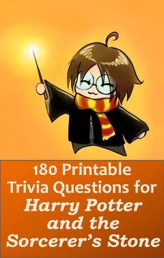 180 Harry Potter trivia questions, 60 in each category of easy, medium, and difficult. You can print pdf onto paper and cut into cards, or can copy questions into word processing program. Focus is on book. Questions are especially suited for children. Harry Potter Trivia Questions, Harry Potter Movie Trivia, Harry Potter Party Games, Harry Potter Activities, Harry Potter School, Harry Potter Games, Harry Potter Printables, Harry Potter Birthday, Imprimibles Harry Potter
