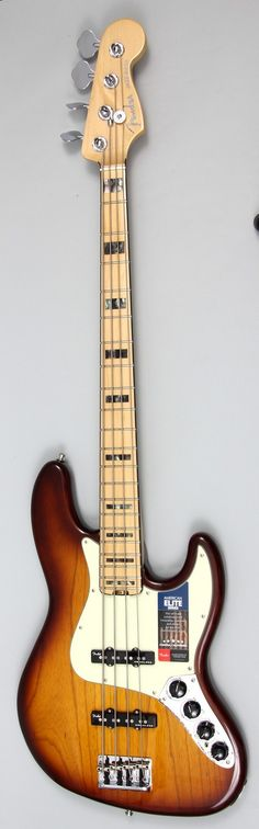 Classic Fender With A Fresh Twist With the Amerian Elite Jazz Bass, Fender has created a bass for the player that needs cutting-edge innovations combined with Fender's unbeatable style and playing exp