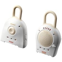 Sony Baby Call Nursery Monitor  900 MHz frequency 27 channels Voice activation Rechargeable receiver Water-resistant (receiver  $31 at Walmart