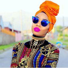 African Fashion – Designer Fashion Tips Afro Punk, Headband Men, Head Wrap Headband, Afro Style, Turban Style, African Men Fashion, African Beauty, Perm, Black Power
