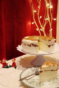 Piparkakkujuustokakku - Sweet Food O´Mine Delicious Desserts, Dessert Recipes, Vanilla Cake, Sweet Recipes, Tiramisu, Cheesecake, Baking, Ethnic Recipes, Food