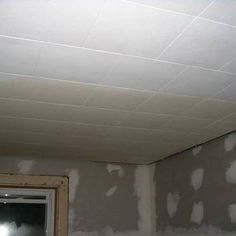 Paint Ceiling Tiles With Water Damage