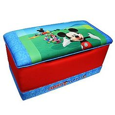 Mickey Mouse Clubhouse Toy Box