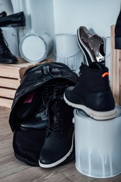1000+ Interesting Leather Backpack Photos · Pexels · Free Stock Photos Vintage Leather Backpack, Free Stock Photos, Black Boots, Sneakers Nike, Pairs, Backpacks, How To Wear, Style, Fashion