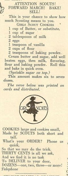 Girl Scout Cookies Recipe -- Cool!