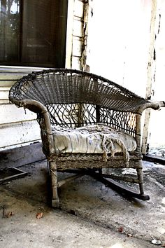 Image detail for -Old porch chair