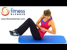 HIIT Workout for Abs & Obliques – High Intensity Cardio and Abs Workout, Fitness Blender