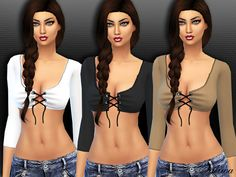 Sims 4 CC's - The Best: Top by Saliwa