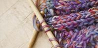 how to knit a picot stitch