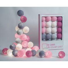 Guirlande La Case de Cousin Paul Hoi an 20 boules - for the little lady of the house :)