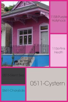 Clementine historic colors of america farrell calhoun New orleans paint colors