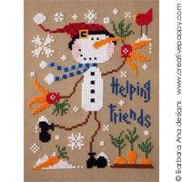 """Helping friends"" by Barbara Ana Designs; creativepoppypatterns.com"