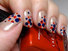 Copycat Dot Manicure - So cute I had to steal it!