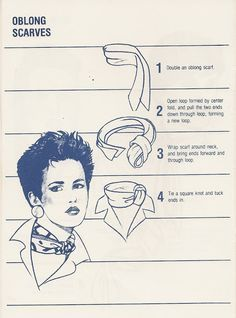 236 Vintage: How to Tie a Scarf