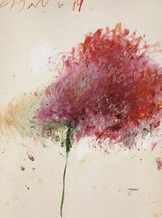 Proteus, 1984 by Cy Twombly (1928-2011) by anne ruddy
