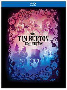 The Tim Burton Collection on Blu-ray & Hardcover Book - 7 Disc Set #GiftIdea