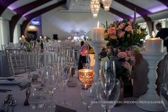 The Peel Suite at Colshaw Hall Cheshire wedding venue | Martin Hambleton wedding photographer