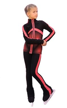 IceDress Figure Skating Outfit - Jump (Black with Coral stripes) https://figureskatingstore.com/icedress-figure-skating-outfit-jump-black-with-coral-stripes/ #figureskating #figureskatingstore #icelandvannuys #figureskates #skating #skater #figureskater #iceskating #iceskater #icedance #ice #icedance #iceskater #iceskate #icedancing #figureskate #iceskates #figureskatingoutfits #figureskatingapparel #figureskatingjacket #figureskatingpants #icedress