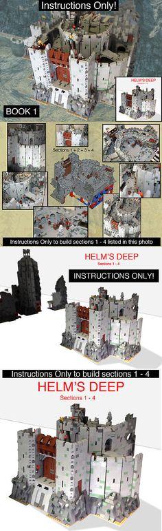 instruction only Lego Custom Instruction hogewoerd