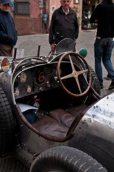 Interior View of a Bugatti Type 35 Grand Prix 1926