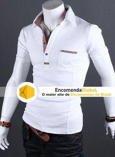 Pólo Masculina com detalhes Xadrez http://www.encomendaglobal.com/ProdutosDetalhes.php?Nome=Polo-Masculina-com-detalhes-Xadrez=722898==googleps