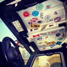 Image result for jeep wrangler jk roof stickers