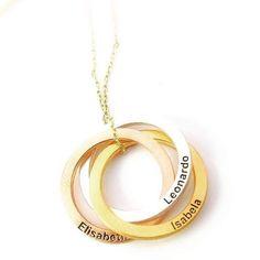 VoVeBoX | isimli kolye, isimli yüzük, gümüş bilezik, aile kolye Name Earrings, Name Necklace, Initial Necklace, Family Necklace, Circle Necklace, Mother Gifts, Gifts For Mom, Mom Ring, Jewelry Rings