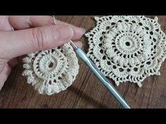 Crochet Mat, Crochet Doily Diagram, Crochet Carpet, Crochet Flower Tutorial, Crochet Stitches, Peacock Crochet, Crochet Keychain Pattern, Irish Crochet Patterns, Crochet Circles