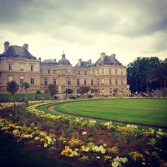 Strolling In Luxembourg Park