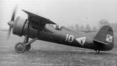 PZL P-11c Polish fighter WW II Second Lieutenant, Invasion Of Poland, Air Machine, Aviation Image, Military Aircraft, World War Ii, Wwii, Air Force, Fighter Jets