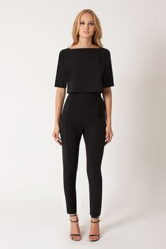 """Black Halo - Bilzen 2 PC Jumpsuit - Black 