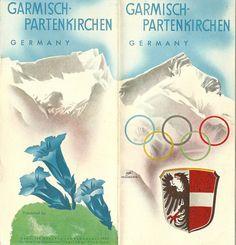 Garmisch- Partenkirchen, Germany - Winter Olympics brochure, 1936 by mikeyashworth, via Flickr