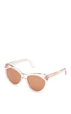 Erzulie Cat Eye Acetate Sunglasses by ZanZan - Moda Operandi
