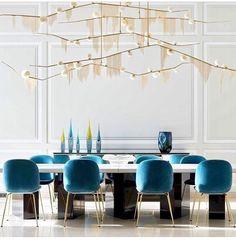 Friday night dinner. Dining room by @claudemissir.interiors