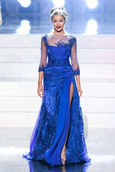 Beautiful Miss Universe dresses: Miss Universe 2012