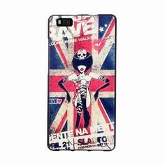 For Huawei P8 Lite case, 3D Relief painting soft Silicon back cover case for Huawei P8 lite