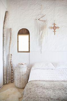 Maison bohème, maison style éclectique, maison nature, décoration épurée, Lovely Market