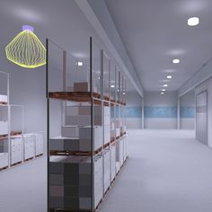 BuR Lighting Bünte und Remmler Lichtplanungen LED Beleuchtung Sortiererei Divider, Led, Lighting, Room, Furniture, Home Decor, Light Design, Projects, Bedroom