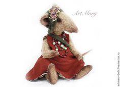 Куклы и игрушки ручной работы. PDF Выкройка крыса Клавдия. ArtMary. Интернет-магазин Ярмарка Мастеров. Выкройка крысы, выкройка