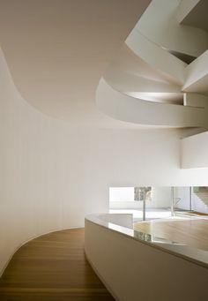 Álvaro Siza Vieira, Fernando Alda · Museum for Iberê Camargo Foundation · Divisare Contemporary Architecture, Foundation, Museum, Ceiling Lights, Interior, Skeleton, Home Decor, Porto, Scallops