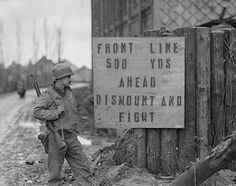 """01 Oct 1944: The Battle of Hürtgen Forest, aka the """"meat grinder,"""" kicks into high gear. It will become the longest battle on German ground during World War II and the longest single battle the US Army has ever fought."""