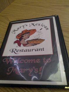 Mary's Mexican Restaurant, 602 Treadaway Abilene Texas Love this place!
